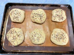 Preparing to Bake the Bierocks