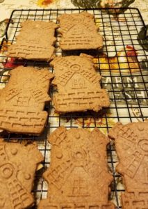 Spiced Speculaas Windmill Cookies