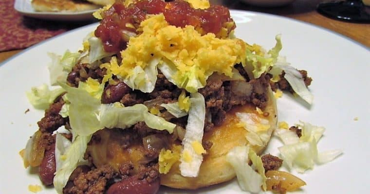 Indian Tacos with Fry Bread