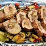 Recipe for Stuffed Pork Tenderloin - Easter Dinner Menu Ideas - Traditional Italian Dinner