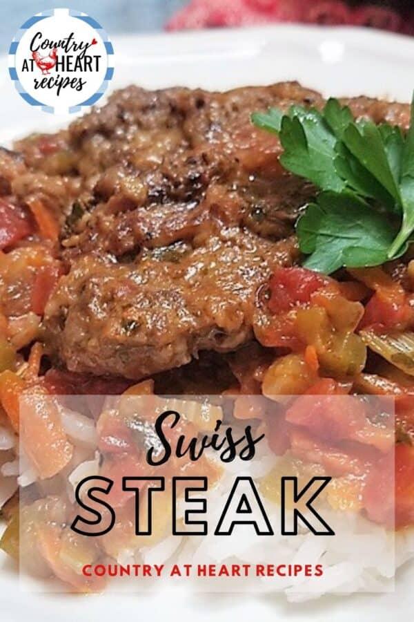 Pinterest Pin - Swiss Steak