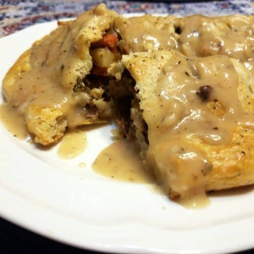 Recipe for Kansas-Style Herbed Pasty
