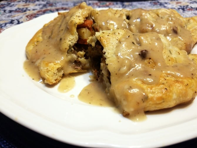Kansas-Style Herbed Pasty