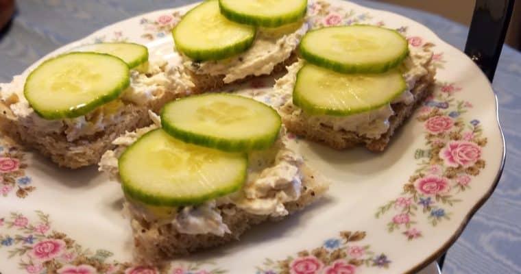 Smoked Salmon Mousse Sandwiches