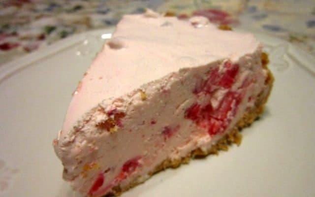 Frozen Strawberry Pie