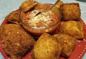 Recipe for Homemade Toasted Ravioli