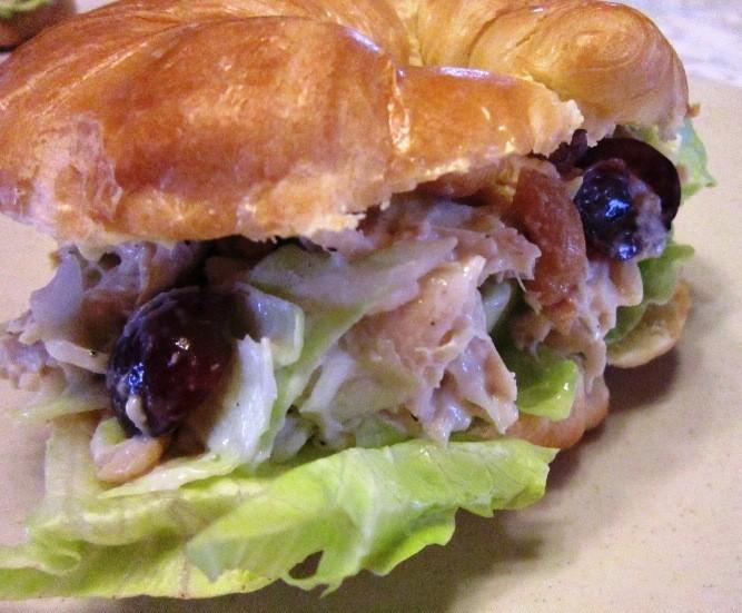 Chicken Salad Crescent Sandwiches
