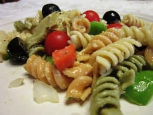 Recipe for Antipasto Rotini Salad