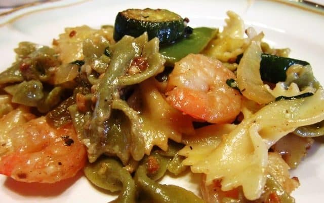 Stir Fry Vegetables with Shrimp