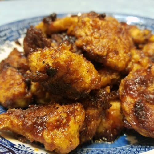 Recipe for BBQ Chicken Bites