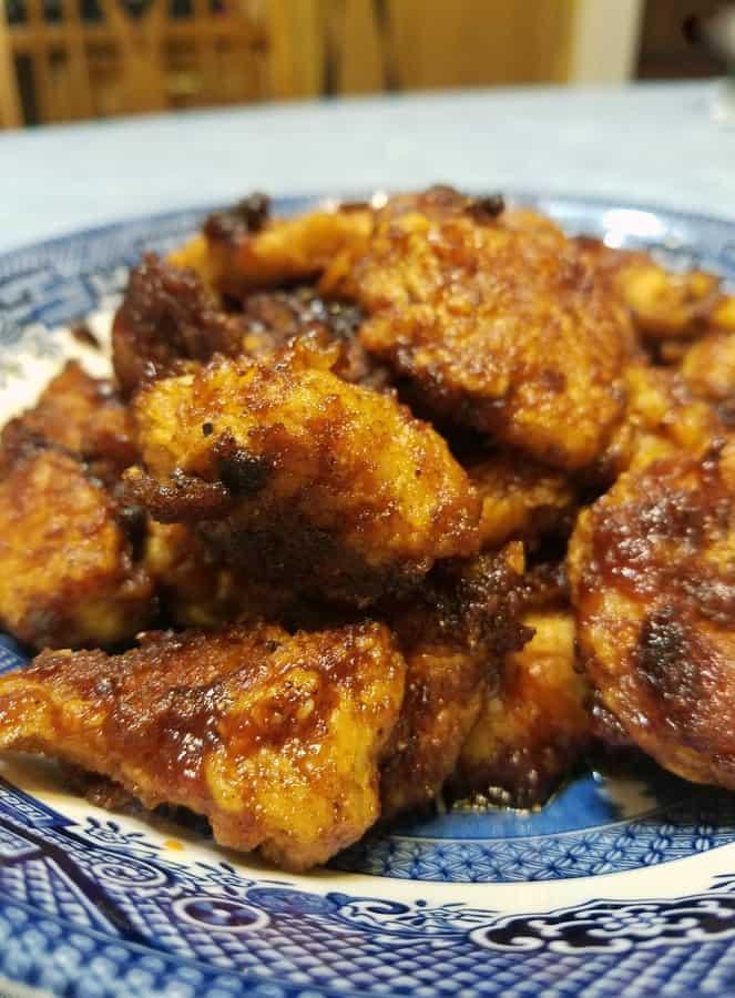 Easy BBQ Chicken Bites