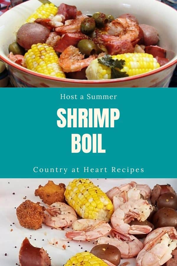Pinterest Pin - Shrimp Boil