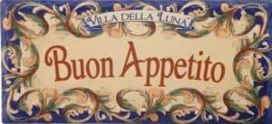 Buon Appetito  - A Traditional Italian Dinner