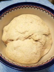 Rising Dough for Sourdough English Muffins