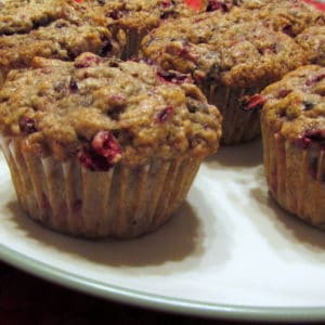 Cranberry Fig Muffins