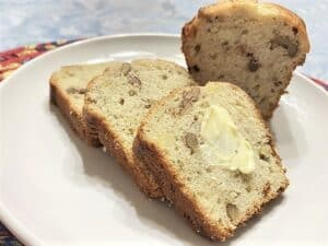 Serving Banana Bread with Butter