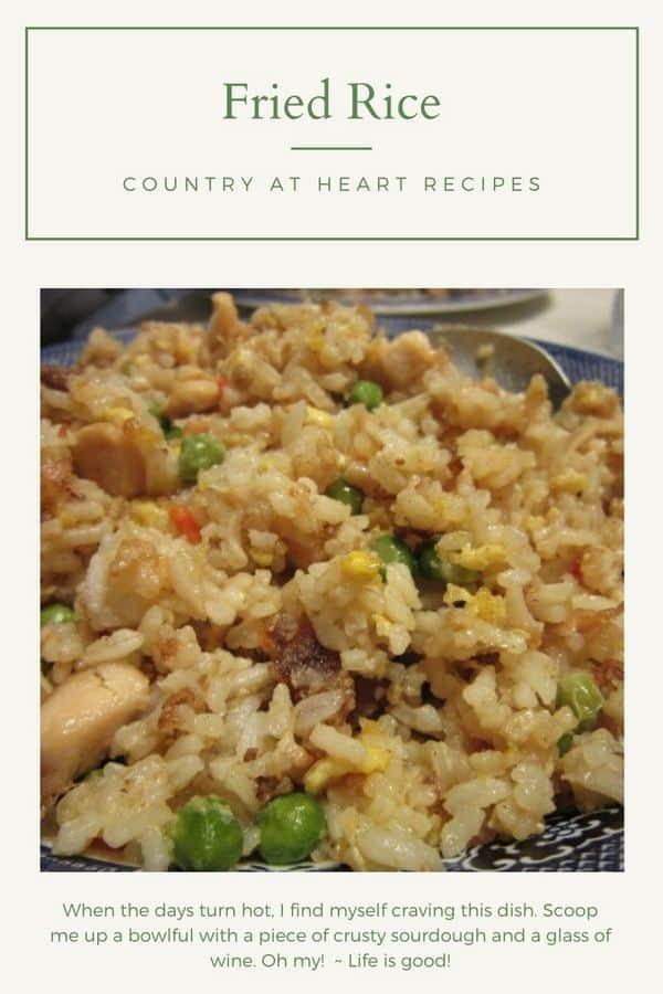 Pinterest Pin - Fried Rice