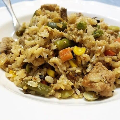 Recipe for Fried Rice with Pork