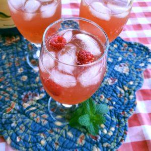 Recipe for Raspberry Mint Tea