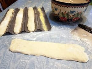 Forming the Baguettes