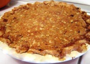 Oat Streusel Dutch Apple Pie