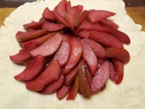 Arranging the Pears on the Crostata
