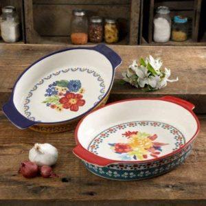 Pioneer Woman Oval Bakers
