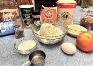 Ingredients for Sourdough Donuts
