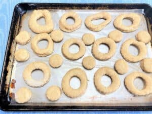 Donuts Ready for Frying