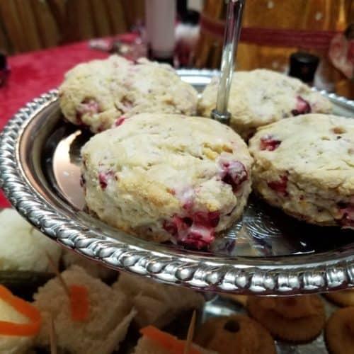 Recipe for Orange Cranberry Scones