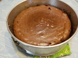 Chocolate Fudge Truffle Cheesecake in Springform Pan