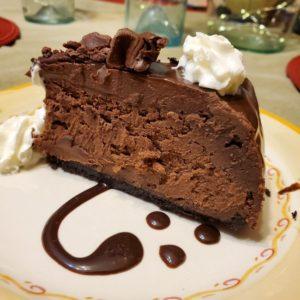 Recipe for Chocolate Fudge Truffle Cheesecake