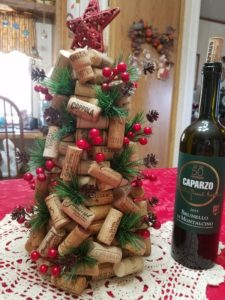 Finished Craft - Wine Cork Christmas Tree
