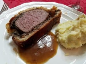 Recipe for Elk Wellington with Madeira Sauce