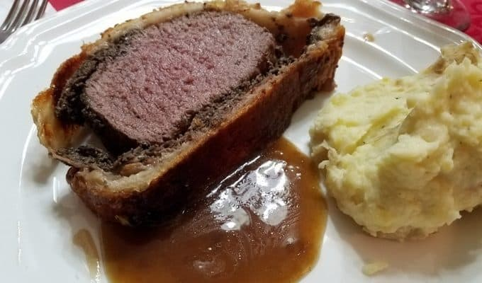 Elk Wellington with Madeira Sauce