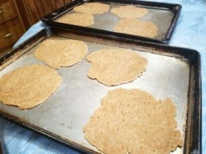 Baking the Unleavened Bread