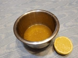 Citrus Dressing - Lemon Juice and Honey