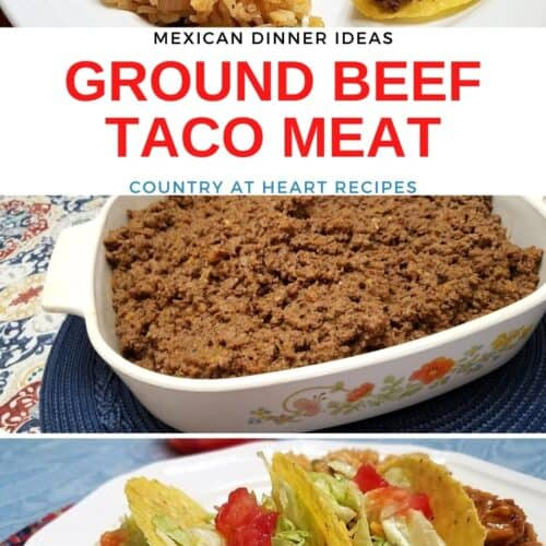 Recipe for Ground Beef Taco Meat