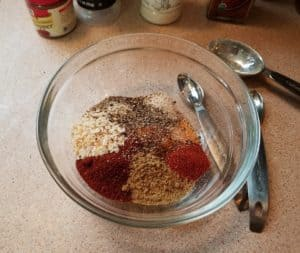 Taco Meat Seasoning Mix