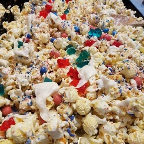 Recipe for Patriotic Popcorn Snack