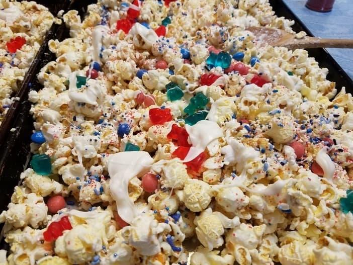 Patriotic Popcorn Snack