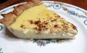 Serving Custard Pie