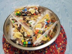 Trail Mix in Individual Snack Bags