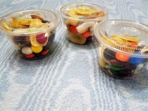 Snack Mix Stored in Individual Containers